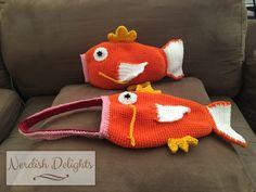 Magikarp crochet purse and plush