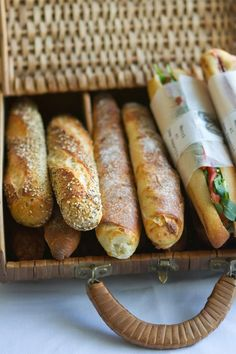 Head to Pain D'Avignon for Authentic French Cuisine Baguette, Snack Recipes, Snacks, Tasty, Yummy Food, Exotic Food, French Food, Foodie Travel, Pain