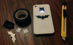Batman IPhone case. Knowing You, Charger, Life Hacks, Lifehacks, Useful Life Hacks