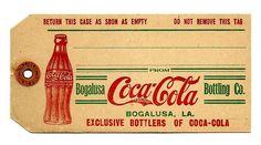 coca cola tag