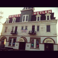Hotel Metlen Dillon Montana Where I Went When Left Home