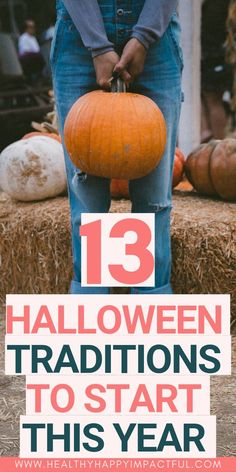 13 Festive Halloween Traditions To Start This Year Fun Halloween traditions to start this year! Make it a festive October and enjoy time with family and friends with these Halloween activities and traditions. Rituals your whole family will love! Halloween Traditions, Halloween Activities, Family Activities, Halloween Games, Halloween Books, Halloween Crafts, Halloween Party, Easy Halloween, Holiday Crafts