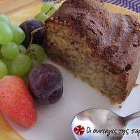 Κέικ φρούτων χωρίς ζάχαρη Greek Sweets, Greek Recipes, Stevia, Meatloaf, Nutella, Healthy Living, Pork, Tasty, Sugar