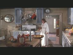 """I still LOVE to watch """"Baby Boom,"""" and living in an old house myself, ADORE this kitchen!!"""