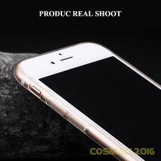 Ultra Slim Soft Transparent Crystal Protective Shockproof Case for iPhone7 7Plus