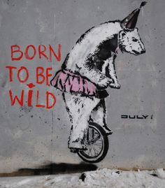 Eco Monday: Stencil Street Art with an Environmental Message by JULY i #art #streetart