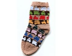 DIY Warm Awesome Adorable Socks - Free Pattern