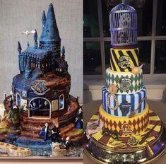 Harry Potter Desserts, Bolo Harry Potter, Harry Potter Treats, Gateau Harry Potter, Harry Potter Cupcakes, Harry Potter Birthday Cake, Harry Potter Puns, Harry Potter Artwork, Harry Potter Drawings