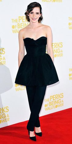 Emma Watson's 10 Best Red Carpet Looks Ever - Dior Haute Couture, 2012 from #InStyle