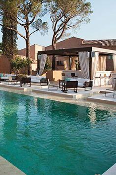 Inspiracja kolekcji kostiumów kąpielowych Triumph ss2013, Muse Hotel, St-Tropez
