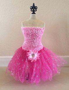 Princess Tutu Dress Pink Tutu Set Princess Tutu by partiesandfun, $18.00