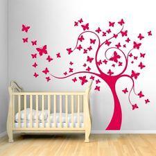 00460 Wall Stickers sticker nanna chicco Camera bimba 140x120 albero incantato in Infanzia e Premaman, Nanna, Cameretta e Decorazioni | eBay