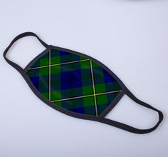 non medical face covering with printed tartan - only from ScotClans