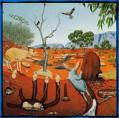 Using this picture as a point of topic interest on deserts of Australia, a discussion about the wildlife and plant life that grows in this particular type of desert can be investigated Desert Dream, Desert Life, Desert Art, Australian Desert, Australian Animals, Aboriginal Culture, Aboriginal Art, Desert Environment, Desert Animals