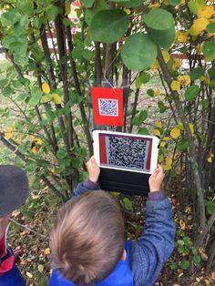 Qr-koder på förskolegården