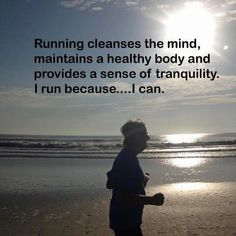 Running Cleanses the Mind
