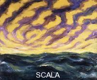******** Nolde, Emil (1867-1956). Autumn Sea XVI; Herbstmeer XVI. 1911