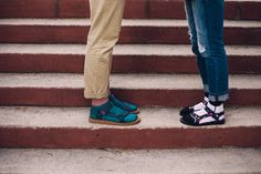 Socks and sandals are officially in, and we're here to help you get in on the trend. No need to put your Originals away for the winter, a bold socks keeps your toes warm and keeps you in sandals all season.