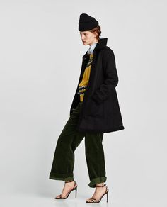 Image 3 of FAUX SUEDE JACKET from Zara