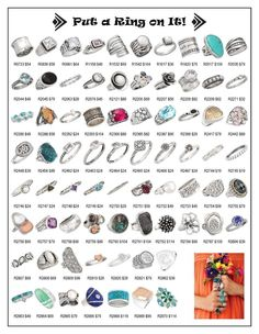 How fun to see all of our Silpada rings on one page! Blessed to represent such an amazing sterling silver jewelry company!