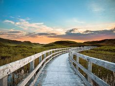 PRINCE EDWARD ISLAND: P.E.I. National Park - Recommended trails for a family hike: Greenwich Dunes Trail Length: 4.8 km