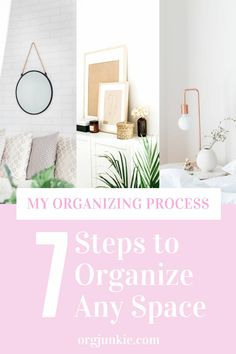 The BEST Organizing Steps to Follow For an Organized Home Home Organisation Tips, Storage Organization, Declutter Your Life, Other Space, Family Organizer, Organizing Your Home, Organizing Ideas, Wire Shelving, Spring Cleaning