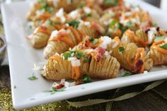New Year's Eve Fingerling Hasselback Loaded Potato Bites   Really nice recipes. Every hour.   Show me what you cooked!