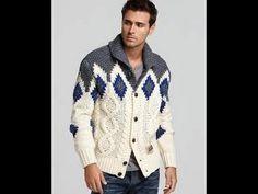 fb126cbdf3a1 Мужская Кофта Спицами - 2019   Men sweaters spokes   Männer Pullover  Speichen