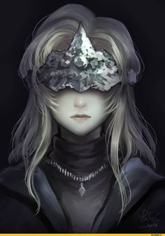 Dark Souls,фэндомы,Fire keeper,DSIII персонажи,Dark Souls 3,DS art