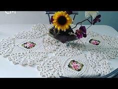 Toalha de Mesa Quadrada Josiane em Crochê /85 CM - YouTube Crochet Doilies, Crochet Hats, Crochet Table Mat, Crochet Videos, Make It Yourself, Blanket, Handmade, Crafts, Bookmarks