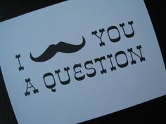 Custom Will You Be My Groomsman/Best Man/Ring Bearer Card (I Mustache You A Question). $2.85, via Etsy.