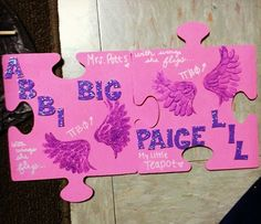 Adorable Pi Phi big and little craft #piphi #pibetaphi