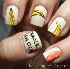The Lacquerologist: 31DC14: 02 Orange Nails
