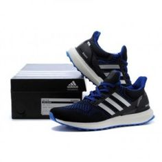 b7433dea33719 Adidas Ultra Boost Custom black blue Cheap Nike