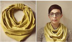 Braided DIY scarf