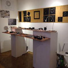 Barbara Spence and Michele Wyckoff Smith display at MADE London 2014