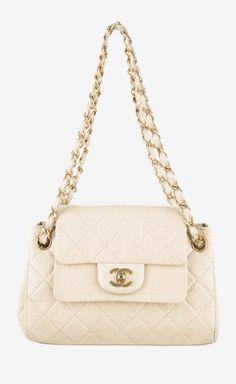 Chanel Ivory Shoulder Bag | VAUNTE