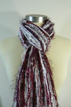 Mississippi State Bulldogs College Scarf Football by FlorasFinest