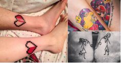 These 20 matching tattoos will make you smile