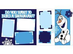 Do you want to to build a Snowman? Pre Cut Scrapbook Kit by Scrapbook Concierge Frozen Scrapbook, Cruise Scrapbook, Disney Scrapbook Pages, Scrapbook Albums, Scrapbook Kit, Scrapbook Frames, Wedding Scrapbook, Scrapbook Layout Sketches, Scrapbook Templates
