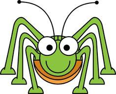 Studiofibonacci Cartoon Grasshopper Clip Art
