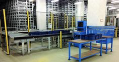 KUTULU OTOMATİK RAF SİSTEMLERİ (MINI LOAD RACKING SYSTEMS)