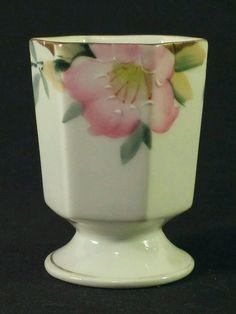 Antique Vintage Porcelain Toothpick Holder Hand painted Noritake Morimura