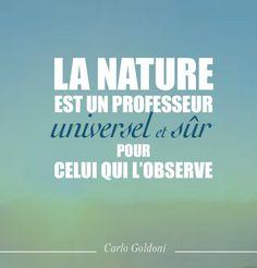 Citation nature : Carlos Goldoni