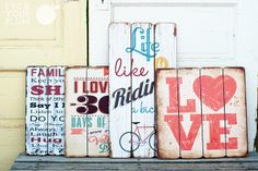 CUTE Statement Piece Signs, starting at $13. Don't miss these!