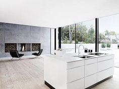Kvik kitchen (mano): no handles, thin worktop, low price