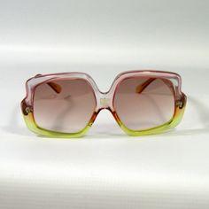 Vintage Pucci Two-tone Sunglasses 1970s