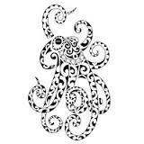 tribal octopus tattoo - Google Search
