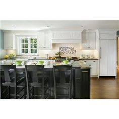 Transitional (Eclectic) Kitchen by Rose Marie Carr   Like contrasting bar