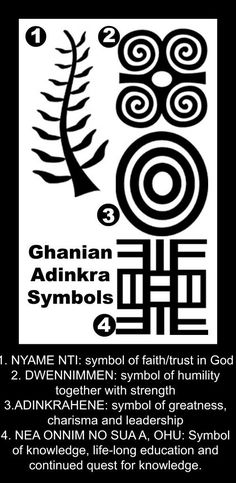 Adinkra Symbols- Ghana multicultural craft for kids